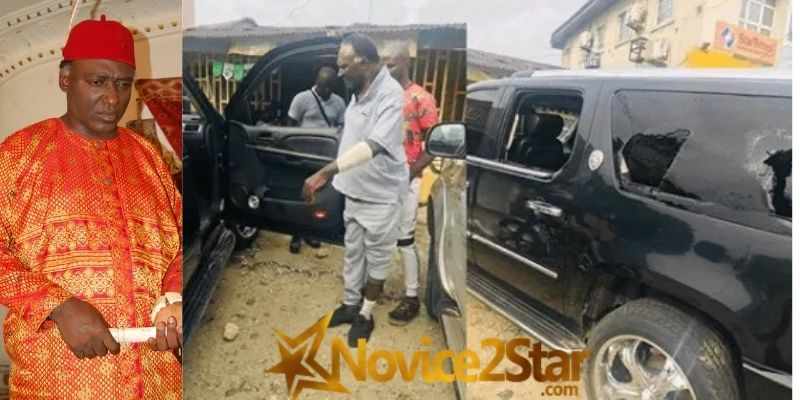 """""""They Took Over Half A Million Naira From Me, Cut My Hand With A Cutlass"""" - Nollywood Actor, Clem Ohameze Narrates His Ordeal In The Hands Of His Attackers (AUDIO)"""