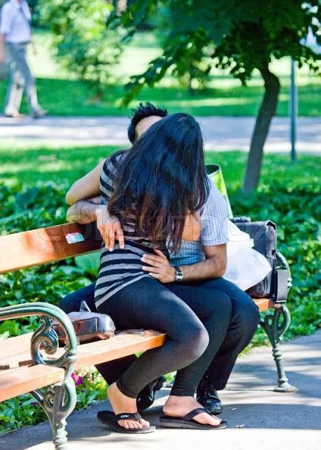 Kiss her in public