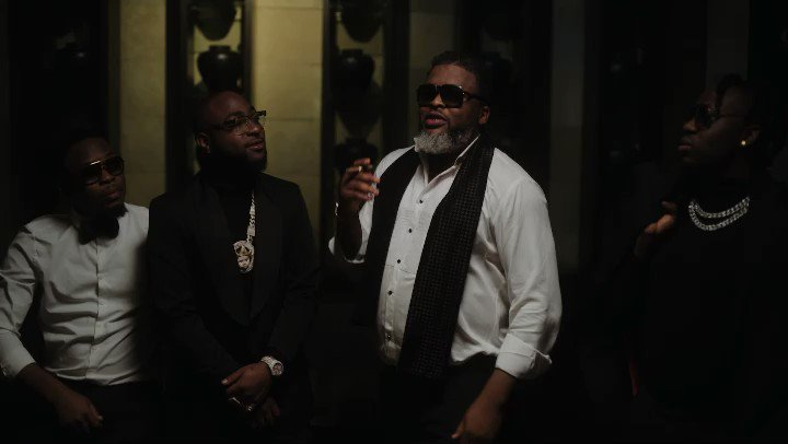 """Larry Gaaga Collaborates With Davido On New Song """"Doubting Thomas"""" To Drop Tomorrow. See Video Snippet"""