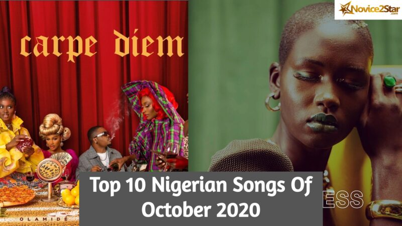 Top 10 Nigerian Songs Of October 2020