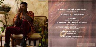 """STREAM: Reekado Banks - """"Off The Record"""" Album"""