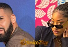 Canadian Rapper, Drake, Begins Following Tems On Instagram