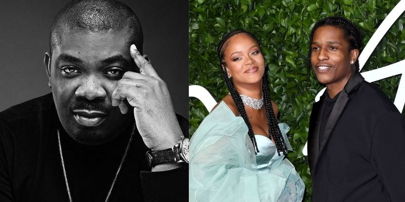 Don Jazzy Reacts To The News Of His Crush, Rihanna, Dating American Rapper