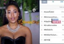 Erica's Fans Go Crazy As She Trends Worldwide On Twitter