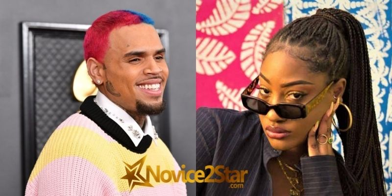 """""""Tems Is Fire"""" - Chris Brown Showers Accolade To Nigerian Singer, Tems"""