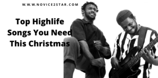 Top Highlife Songs You Need This Christmas