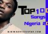 Top Songs in Nigeria 2020