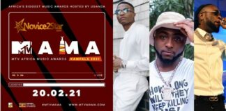 Wizkid, Burna Boy, Davido and Tiwa Savage Bags Nomination For MTV Africa Music Award (MAMA). See Full Nominee's List