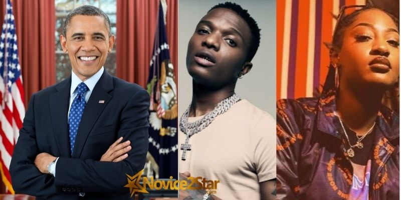 """Wizkid's """"Essence"""", Featuring Tems. Made It To Barack Obama's Favourite Songs Of 2020"""