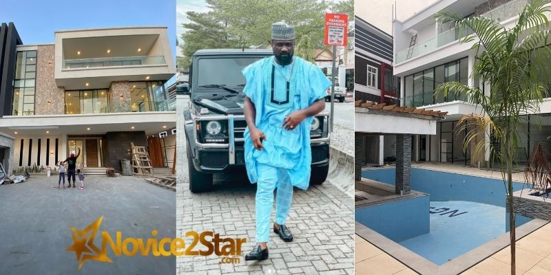 """""""Xmas Came Early"""" - Jude Okoye Says As He Shows Off Newly Built Mansion (PHOTOS)"""