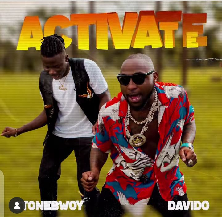"Stonebwoy - ""Activate"" Feat. Davido [Audio]"
