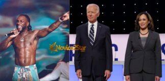 """Burna Boy's Song, """"Destiny"""" Appears In Joe Biden & Harris Inauguration Playlist"""