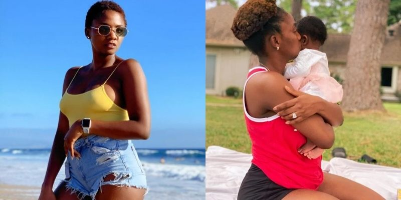 """I Will Arrange Boys To Beat Up Anyone That Bullies My Child"" - Simi Warns"