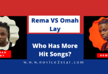 Rema VS Omah Lay, Who Has More Hit Songs?