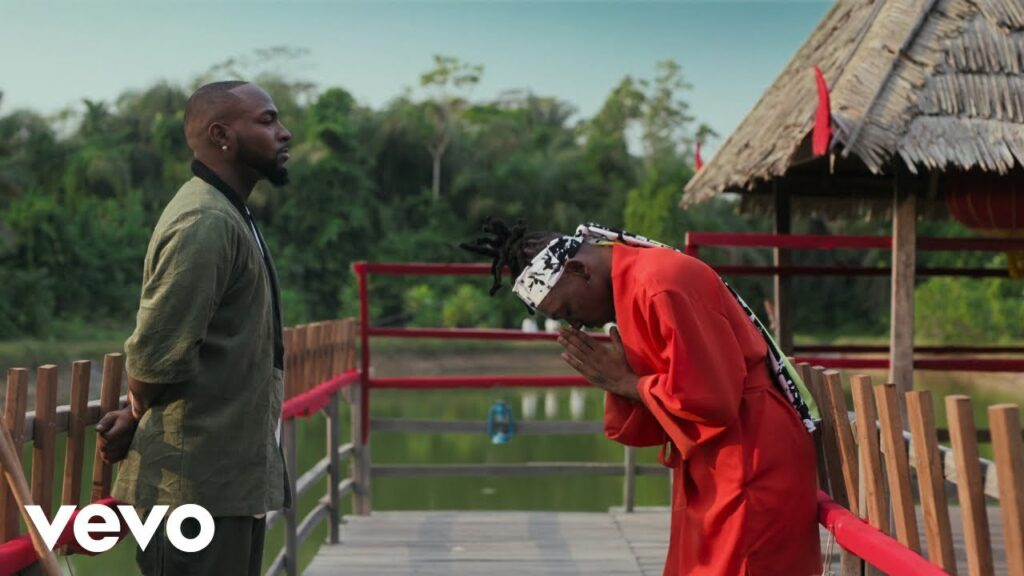 Davido And Mayorkun Creates A Chinese Movie In 'The Best' Video