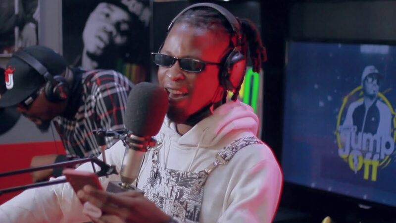 Laycon Freestyles On Wizkid 'No Stress' On Jimmy Jump Off Show (See Video)