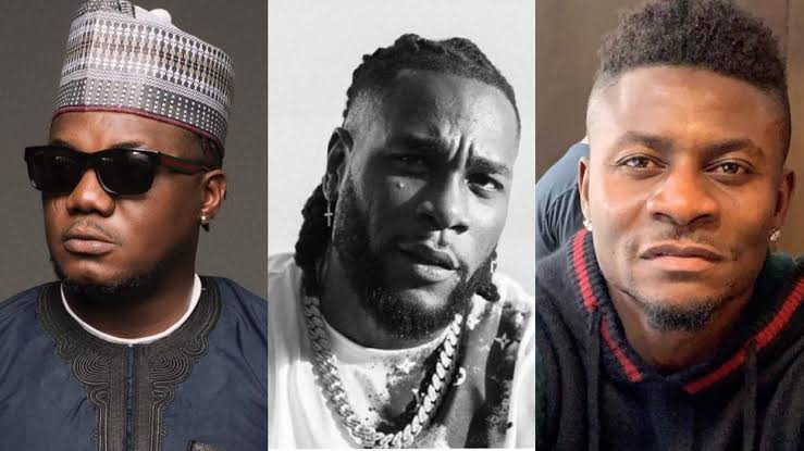 CDQ, Burna Boy, Obafemi Martins