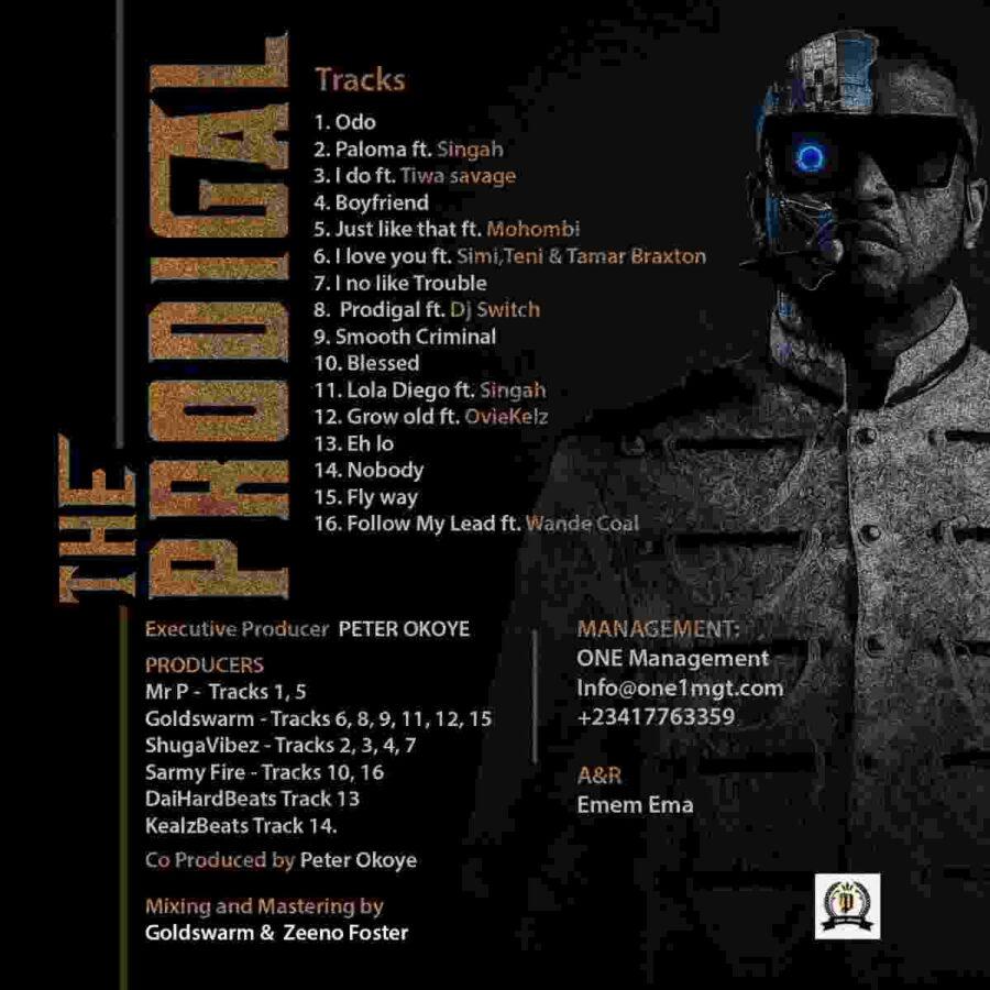 Mr P Prodigal Son Album Tracklist