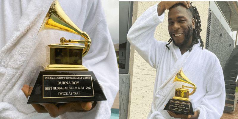Burna Boy Grammy